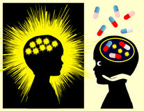 Médicament d'épilepsie Photo libre de droits