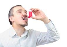 Médicament d'asthme. Images libres de droits