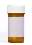 médicament de bouteille Images stock