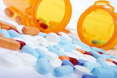 Médicaments délivrés sur ordonnance photographie stock