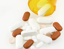 Médicaments délivrés sur ordonnance Photo libre de droits