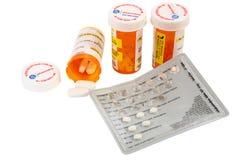 Médicaments délivrés sur ordonnance Photographie stock libre de droits
