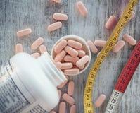 Médicaments pour la surveillance du poids et le régime photo libre de droits