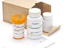 Médicaments vente par correspondance image stock
