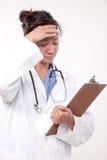 Médico asiático del doctor de la mujer fotos de archivo