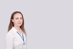Médico cómodo Fotografía de archivo libre de regalías