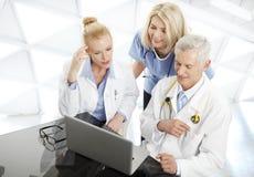 Médico Consultation Foto de archivo libre de regalías