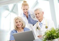 Médico Consultation Fotos de archivo libres de regalías