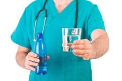 Médico controlo Imagem de Stock Royalty Free