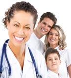 Médico da família fotografia de stock royalty free