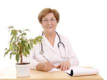 Médico de cabecera Fotos de archivo libres de regalías