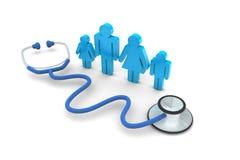 Médico de cabecera Visit stock de ilustración