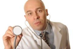 Médico de hospital Imágenes de archivo libres de regalías