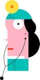 Médico de sexo femenino Imágenes de archivo libres de regalías