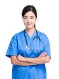 Médico de sexo femenino imagen de archivo