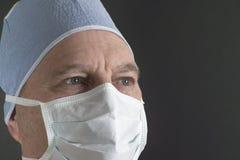 Médico de sexo masculino Imagen de archivo libre de regalías