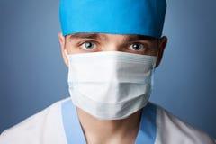 Médico en máscara Imagen de archivo libre de regalías