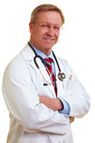 Médico feliz fotografia de stock royalty free