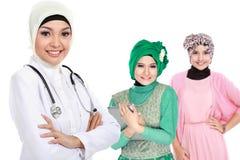 Médico musulmán imágenes de archivo libres de regalías