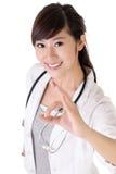 Médico novo atrativo imagem de stock royalty free