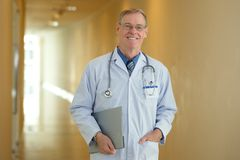 Médico principal Fotografia de Stock