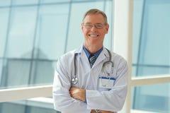 Médico responsável Fotografia de Stock Royalty Free