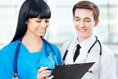 Médicos fotos de archivo
