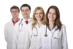 Médicos con los estetoscopios Fotografía de archivo
