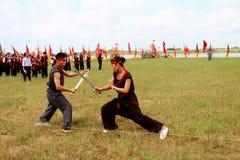Médicos das artes marciais por Fotografia de Stock