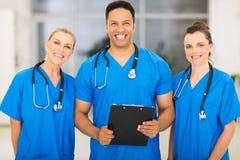 Médicos especialistas del grupo Imagen de archivo libre de regalías