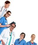 Médicos especialistas en su servicio imagen de archivo libre de regalías