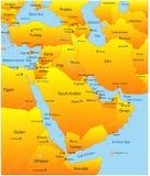 Médio Oriente ilustração stock