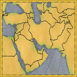 Médio Oriente Foto de Stock Royalty Free