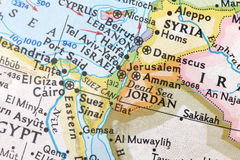 Médio Oriente, melting pot das religiões Foto de Stock Royalty Free