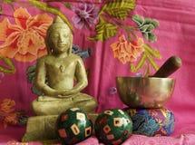Méditation 1 image libre de droits