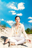 Méditation Photo stock