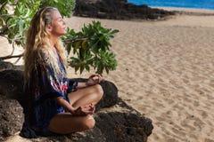 Méditation Image stock