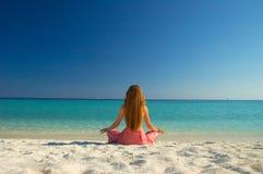 Méditation Photographie stock libre de droits
