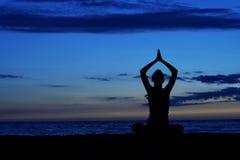 Méditation. Images libres de droits