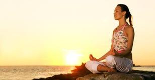 Méditation. Photos libres de droits