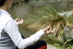 Méditation Photos stock