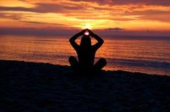 Méditation #7 Photos stock