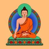 Méditation Bouddha Image stock