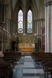 Méditation de chapelle du ` s de St John, cathédrale de York Minster Image libre de droits
