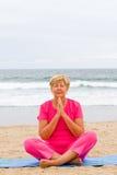 Méditation de femme Photos stock