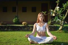 Méditation de jardin Image libre de droits
