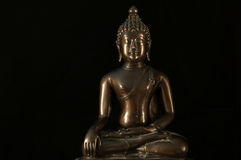 Méditation de statue de Bouddha image stock