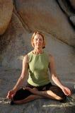 Méditation normale Photographie stock libre de droits