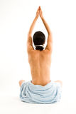 Méditation-Posez Images stock