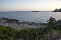 Méditerranéen frottez photo libre de droits